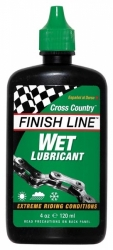 Mazivo Finish Line Cross Country Wet 120 ml